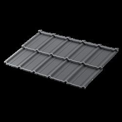 Blachodachówka modułowa Como 350 X-matt 015 Czarny