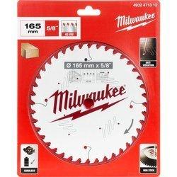 Tarcza do drewna Milwaukee 165mm 40HW do pilarki