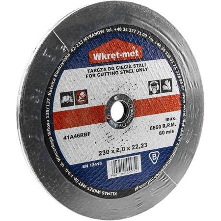Tarcza do cięcia metalu - stali 230x2,0 x 22 mm (5 szt.)