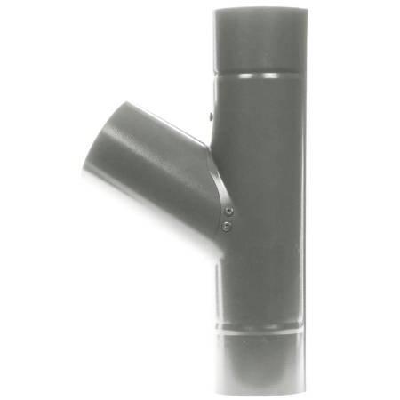 Trójnik 60° Ø90/90 mm Antracyt metaliczny 044
